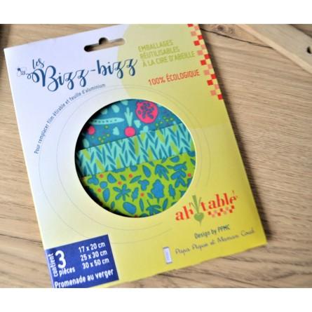 Emballages réutilisables écologiques Bizz bizz