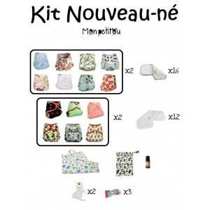 Kit couches lavables Nouveau-né