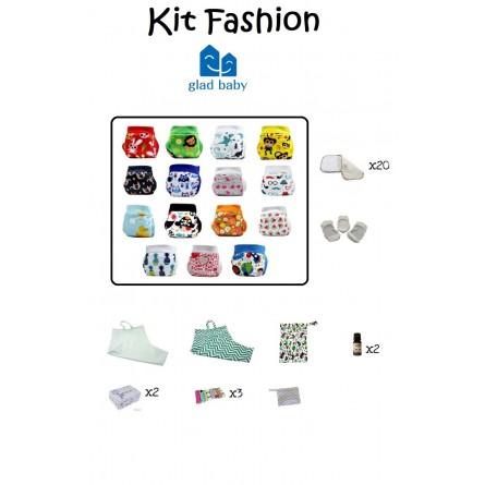 Kit couches lavables Fashion