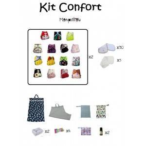 Kit couches lavables Confort