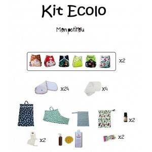 Kit couches lavables Ecolo