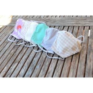 Masque tissu en coton bio