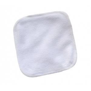 Lot de 5 lingettes lavables pas cher bébé micropolaire