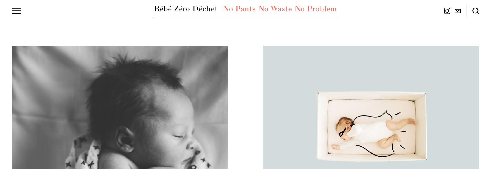 bébé zéro déchet parle d'ecomome